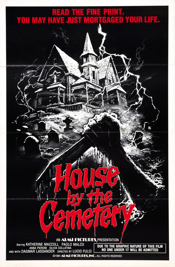 Poster for House by the Cemetery