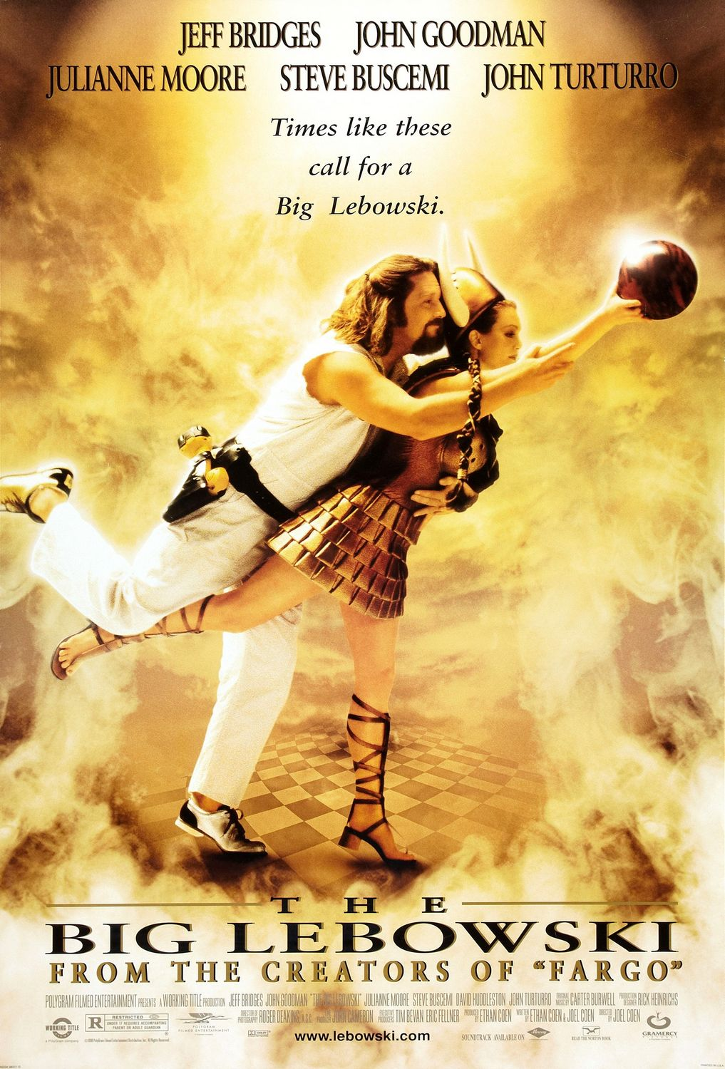 Poster for The Big Lebowski Film Feast