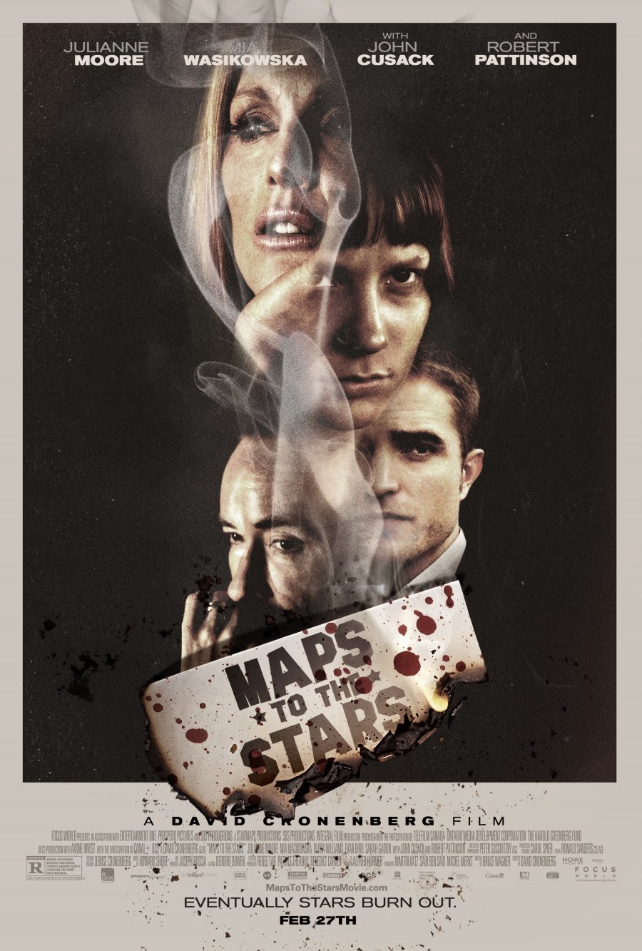 Poster for Maps to the Stars