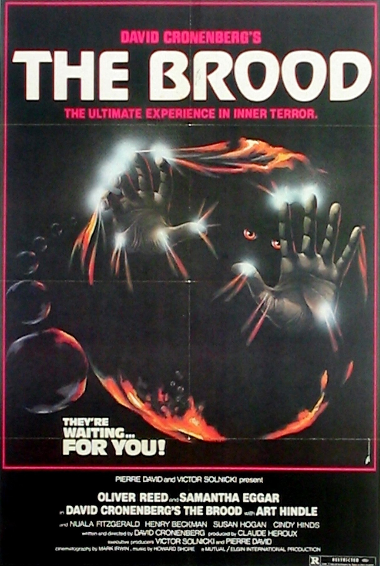 Poster for The Brood