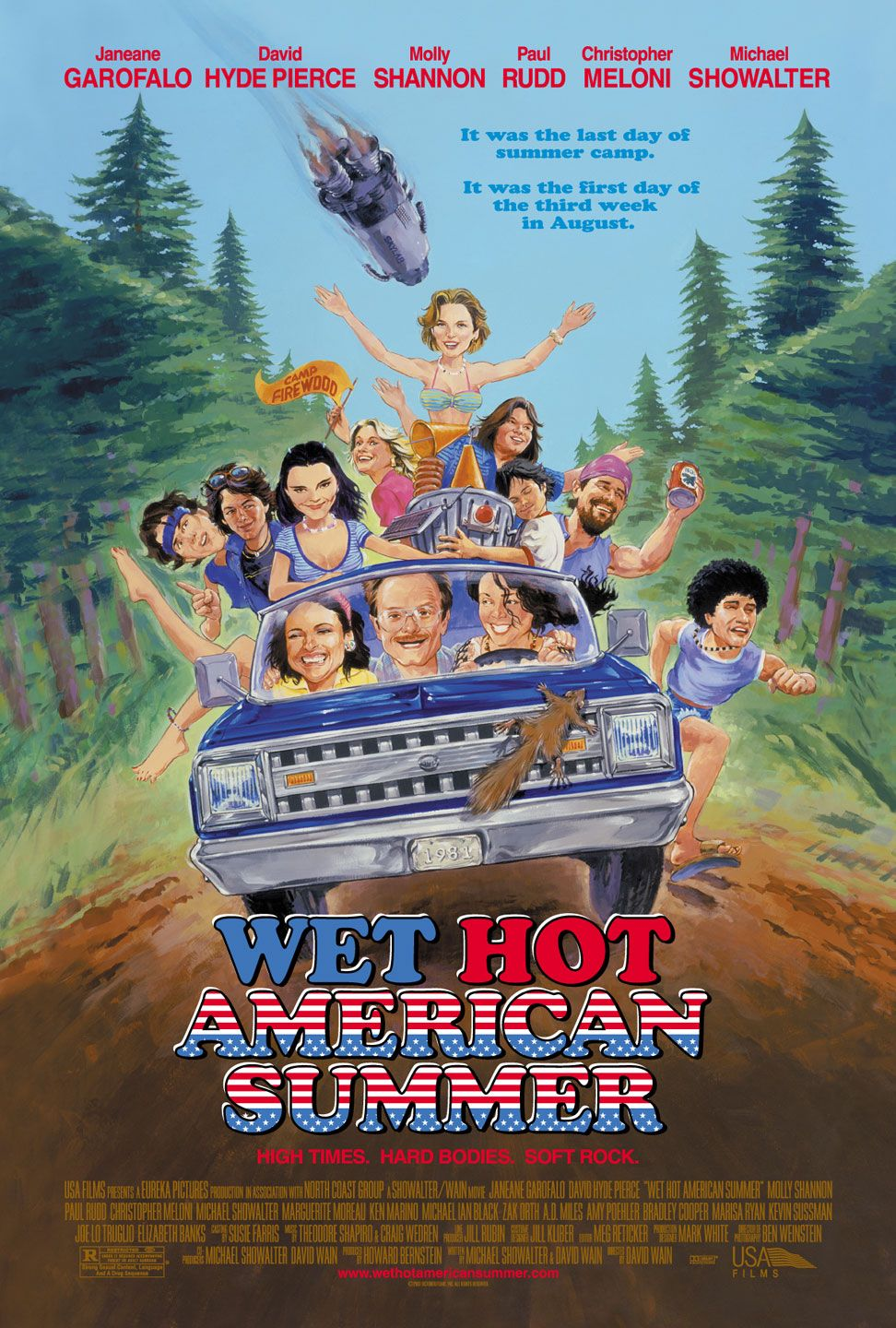 Poster for Wet Hot American Summer