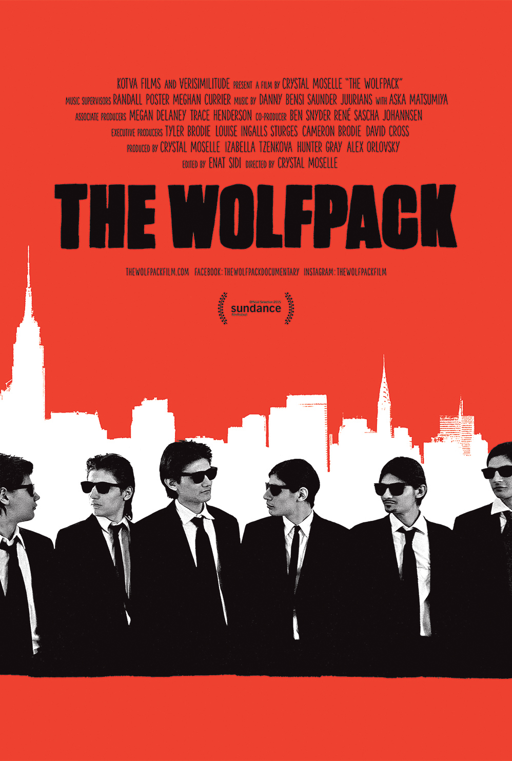 Poster for The Wolfpack