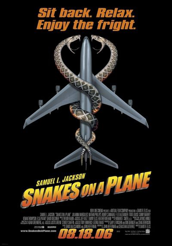 Poster for Snakes on a Plane