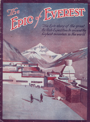 Poster for The Epic of Everest