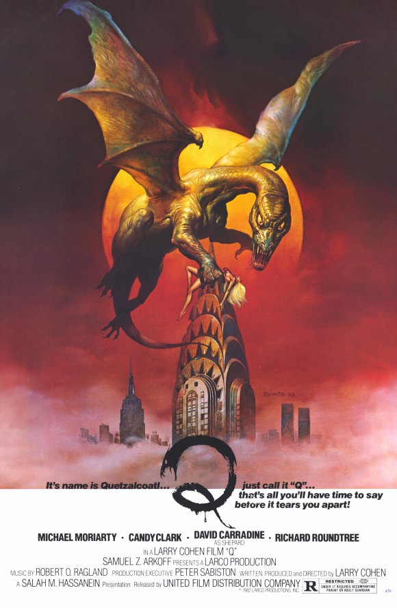 Poster for Q: The Winged Serpent