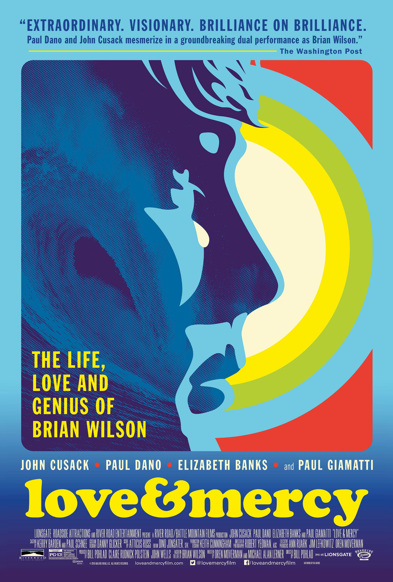 Poster for Love and Mercy