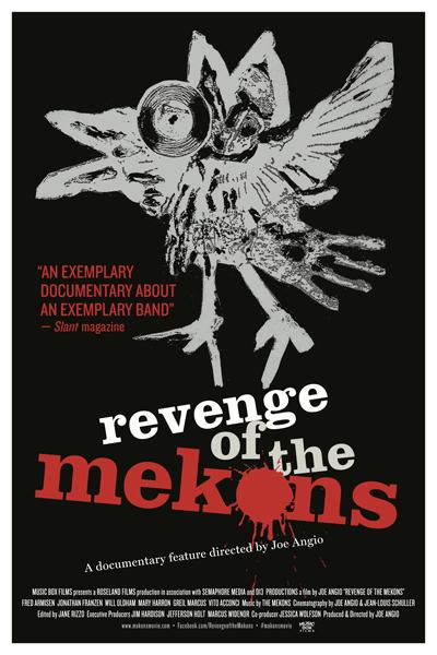 Poster for Revenge of the Mekons