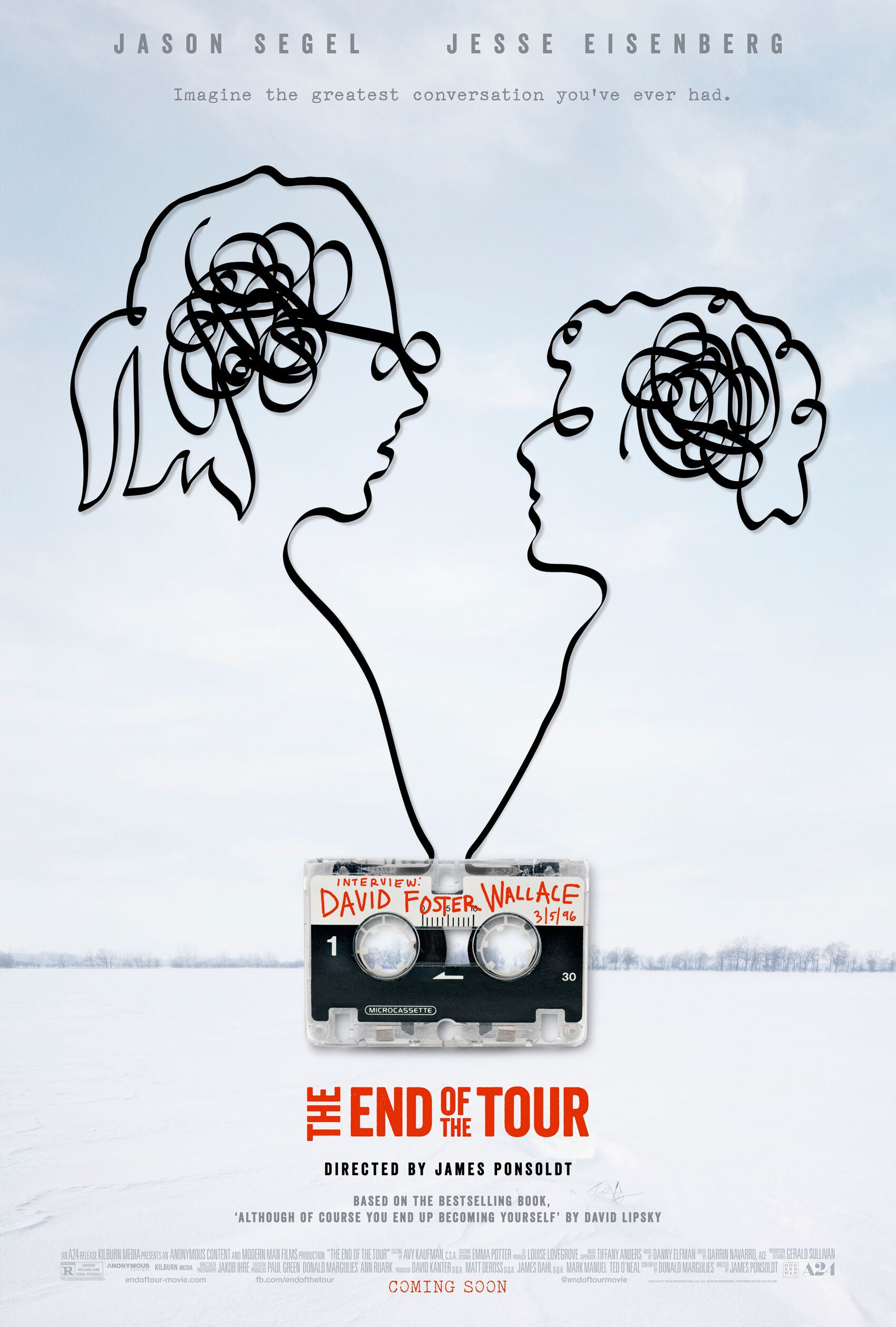 Poster for End of the Tour