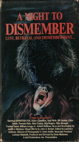 Poster for A Night to Dismember