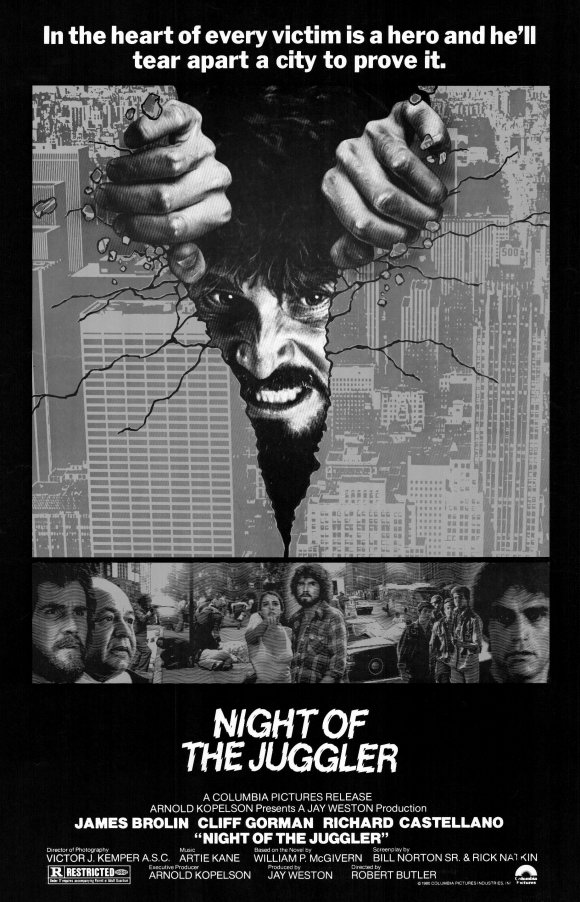 Poster for Night of the Juggler