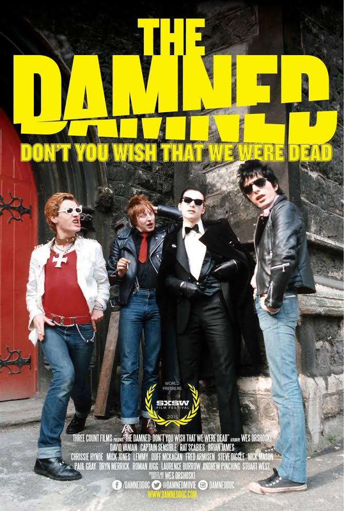 Poster for The Damned: Don't You Wish That We Were Dead