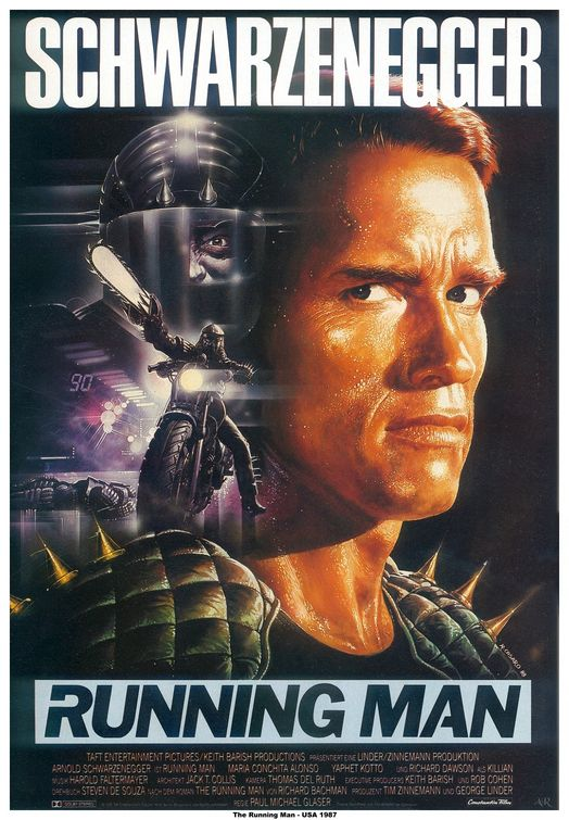 Poster for The Running Man