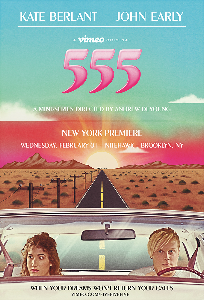 Poster for 555