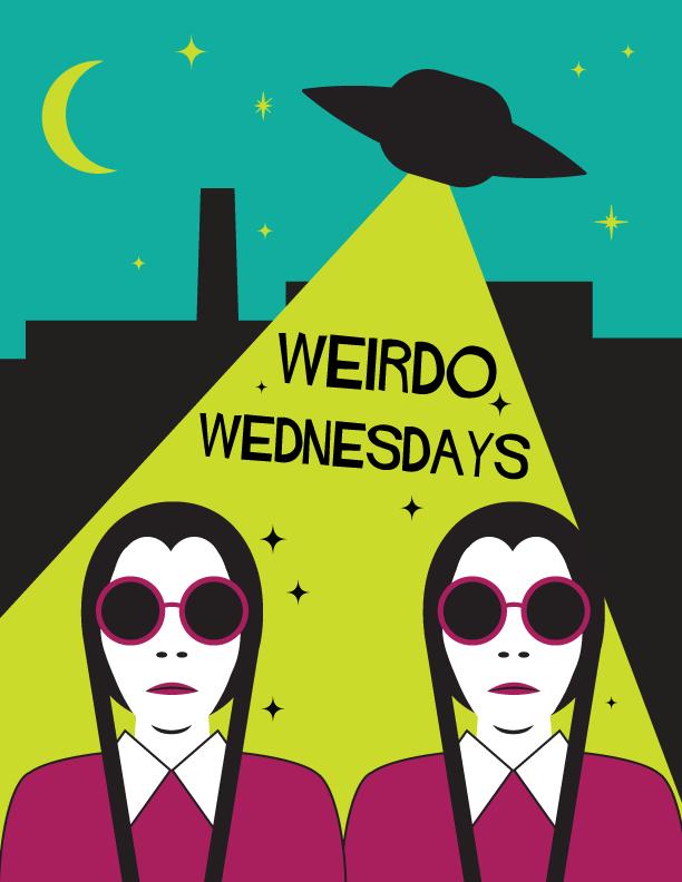Poster for Weirdo Wednesdays