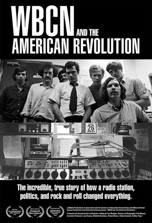 Poster for WBCN and the American Revolution
