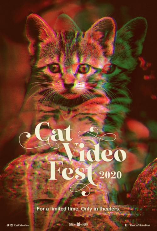 Poster for CatVideoFest 2020