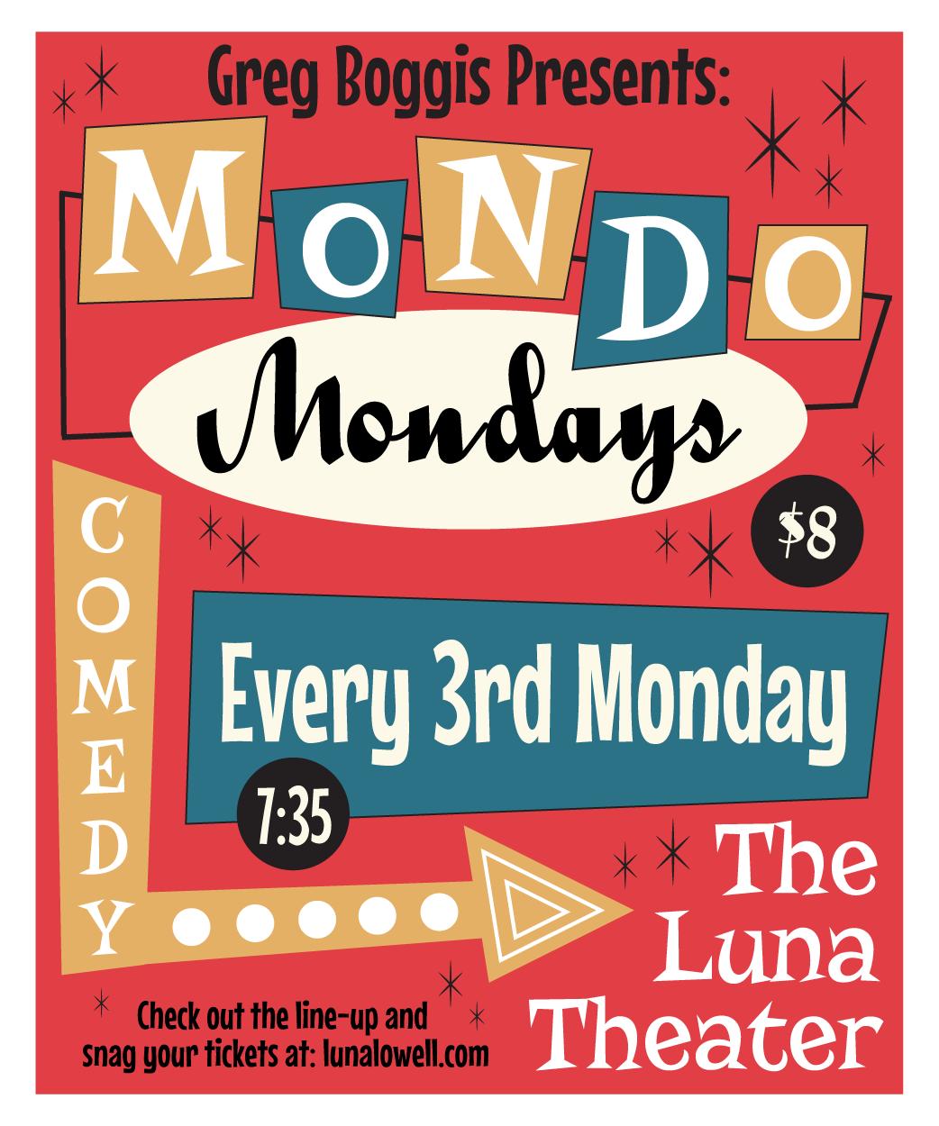 Poster for Mondo Mondays