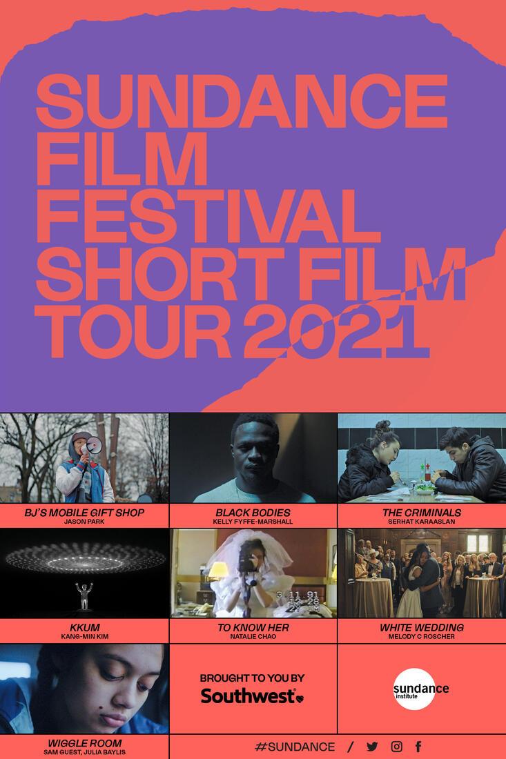 Poster for 2021 Sundance Film Festival Shorts Tour