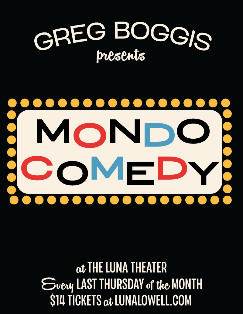 Poster for The Return of Mondo Comedy!