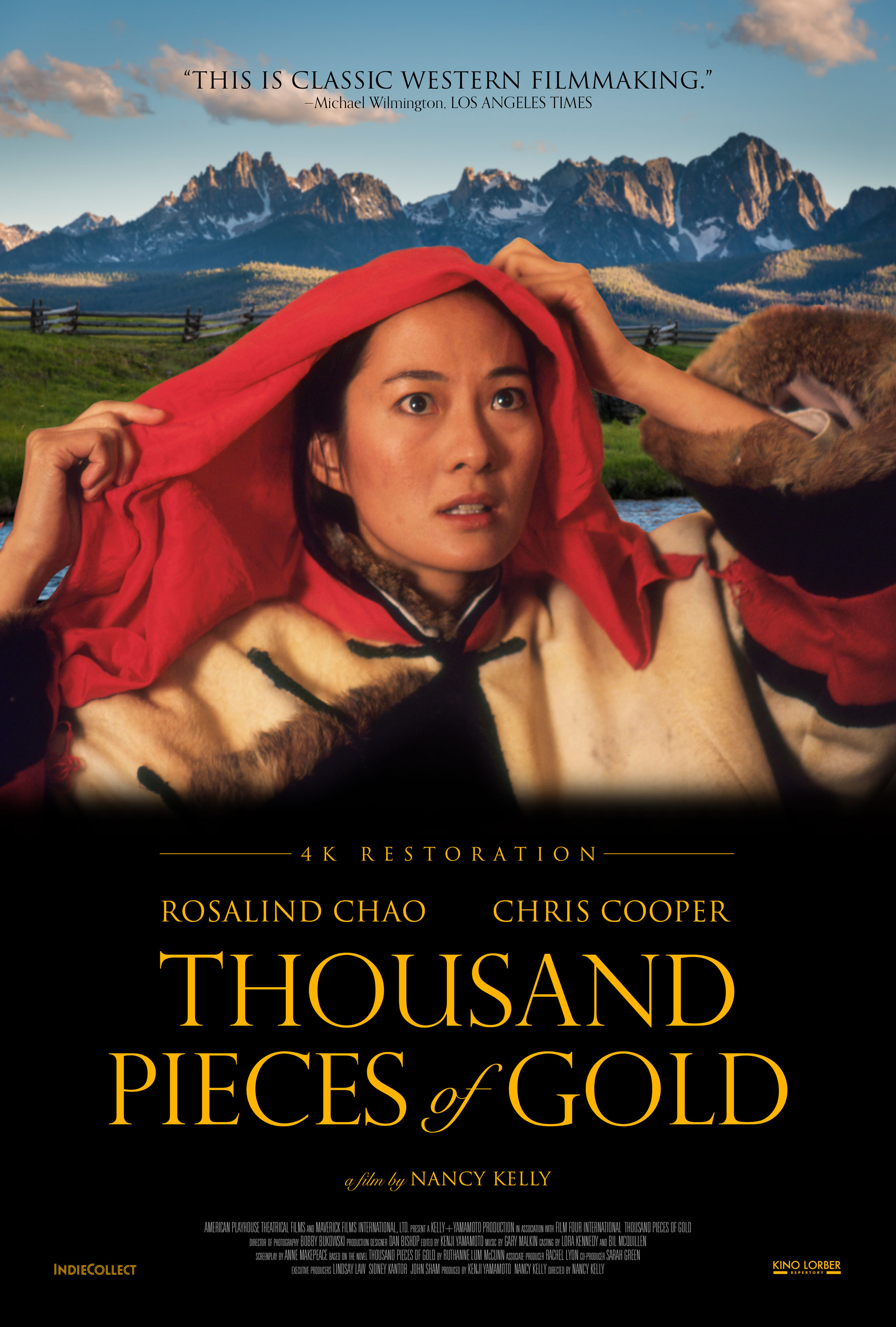 Poster for Thousand Pieces of Gold (4k Restoration)