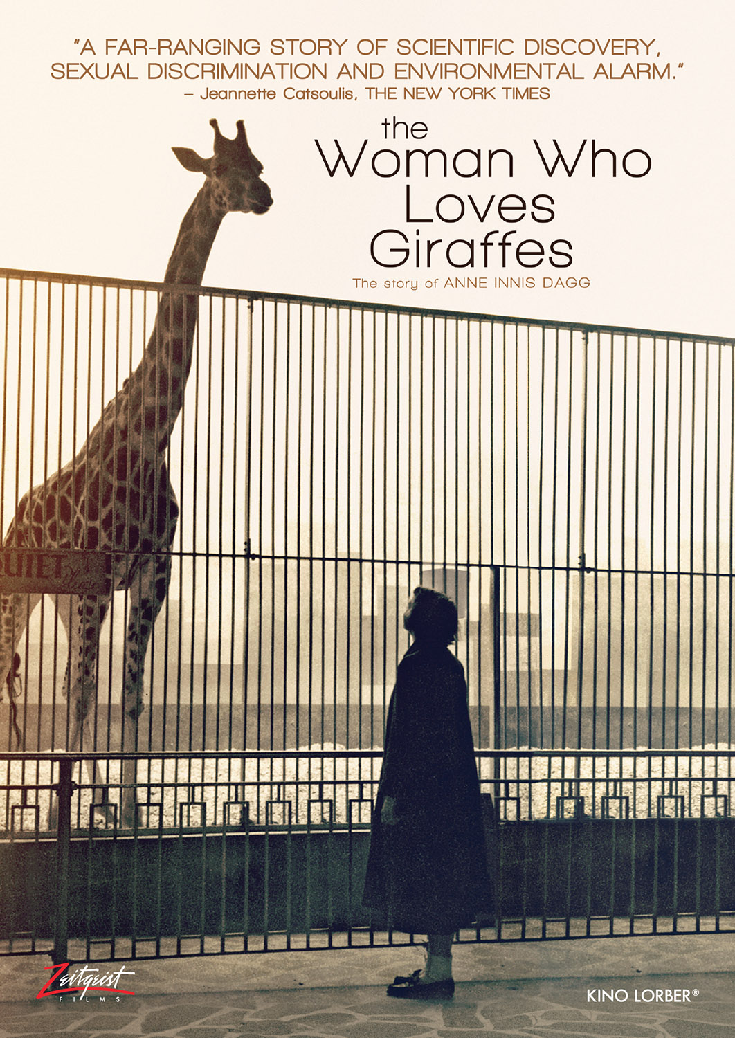 Poster for The Woman Who Loves Giraffes