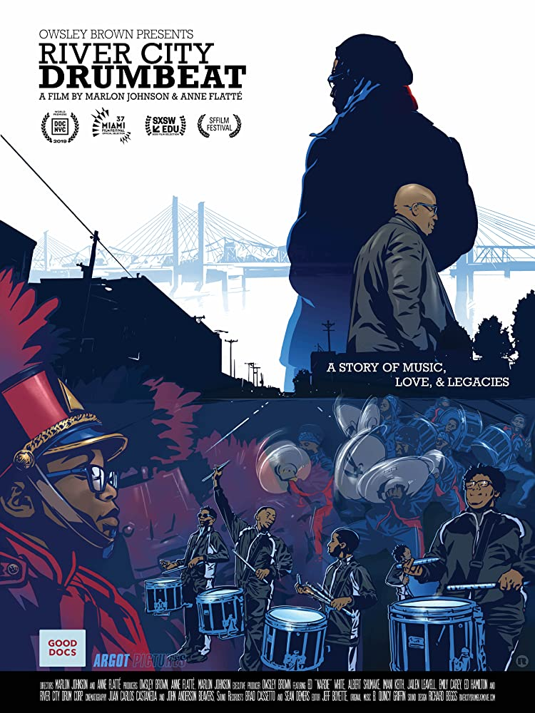 Poster for River City Drumbeat