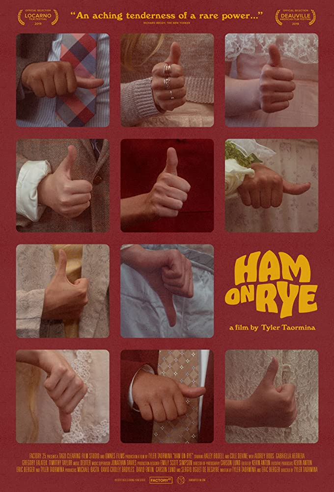 Poster for Ham on Rye