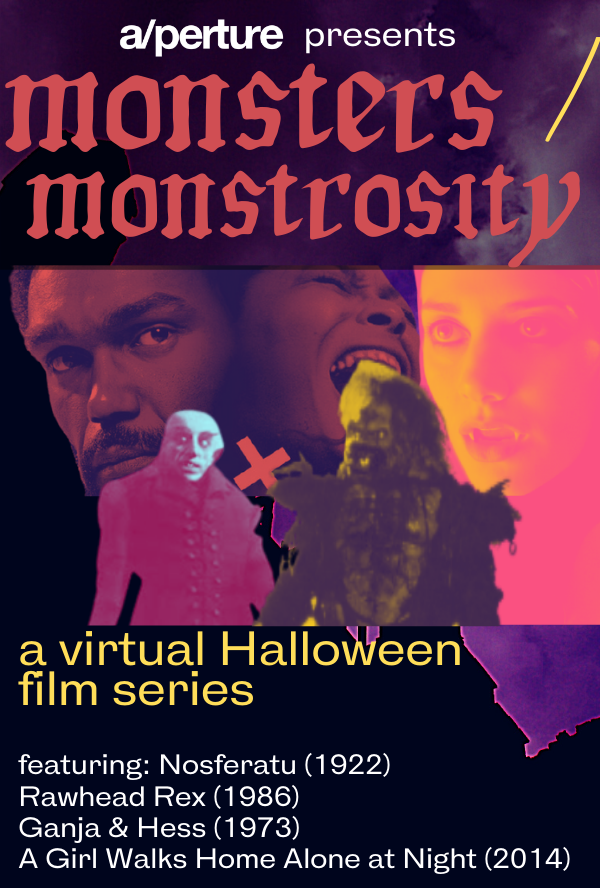 Poster for Monsters / Monstrosity: A Virtual Halloween Series