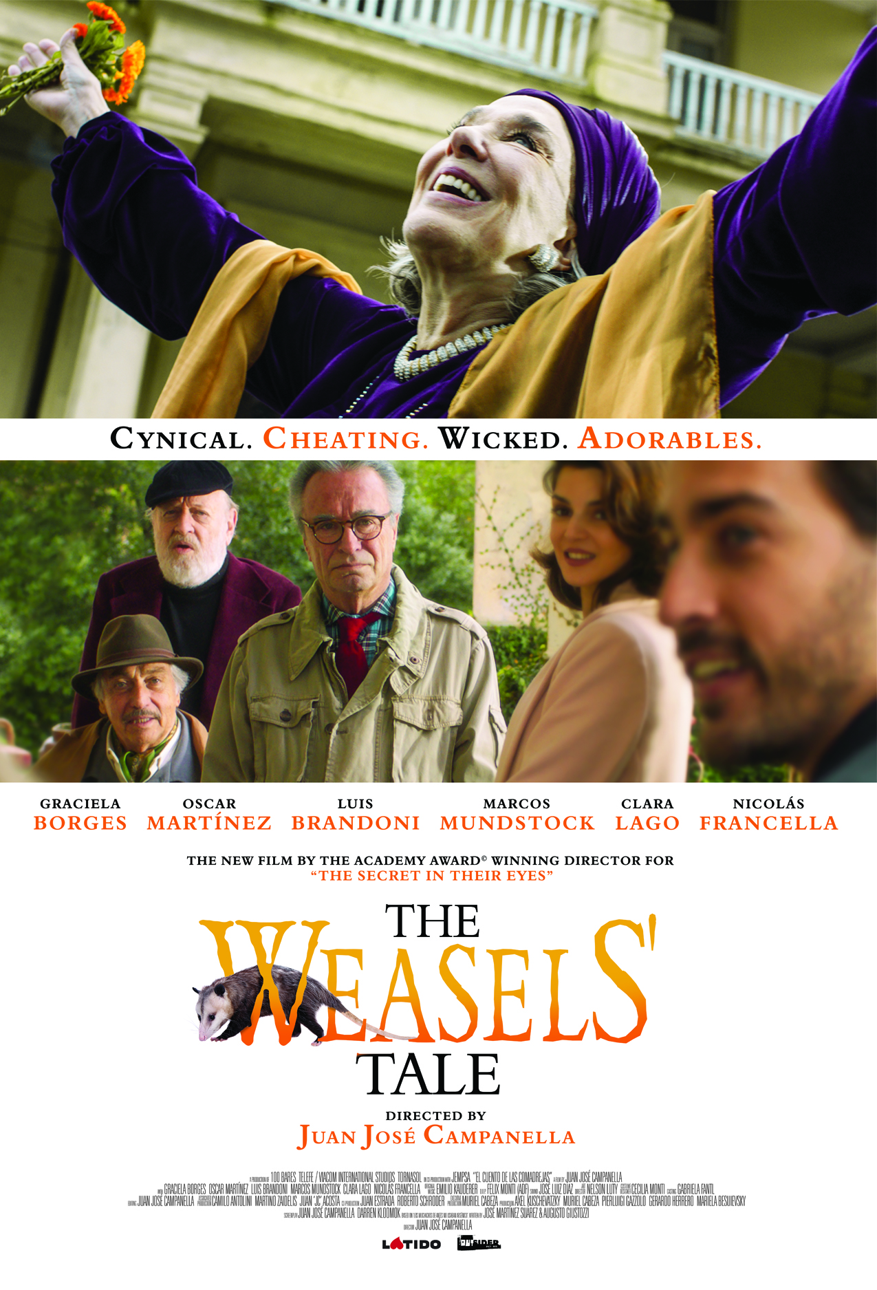 Poster for The Weasels' Tale