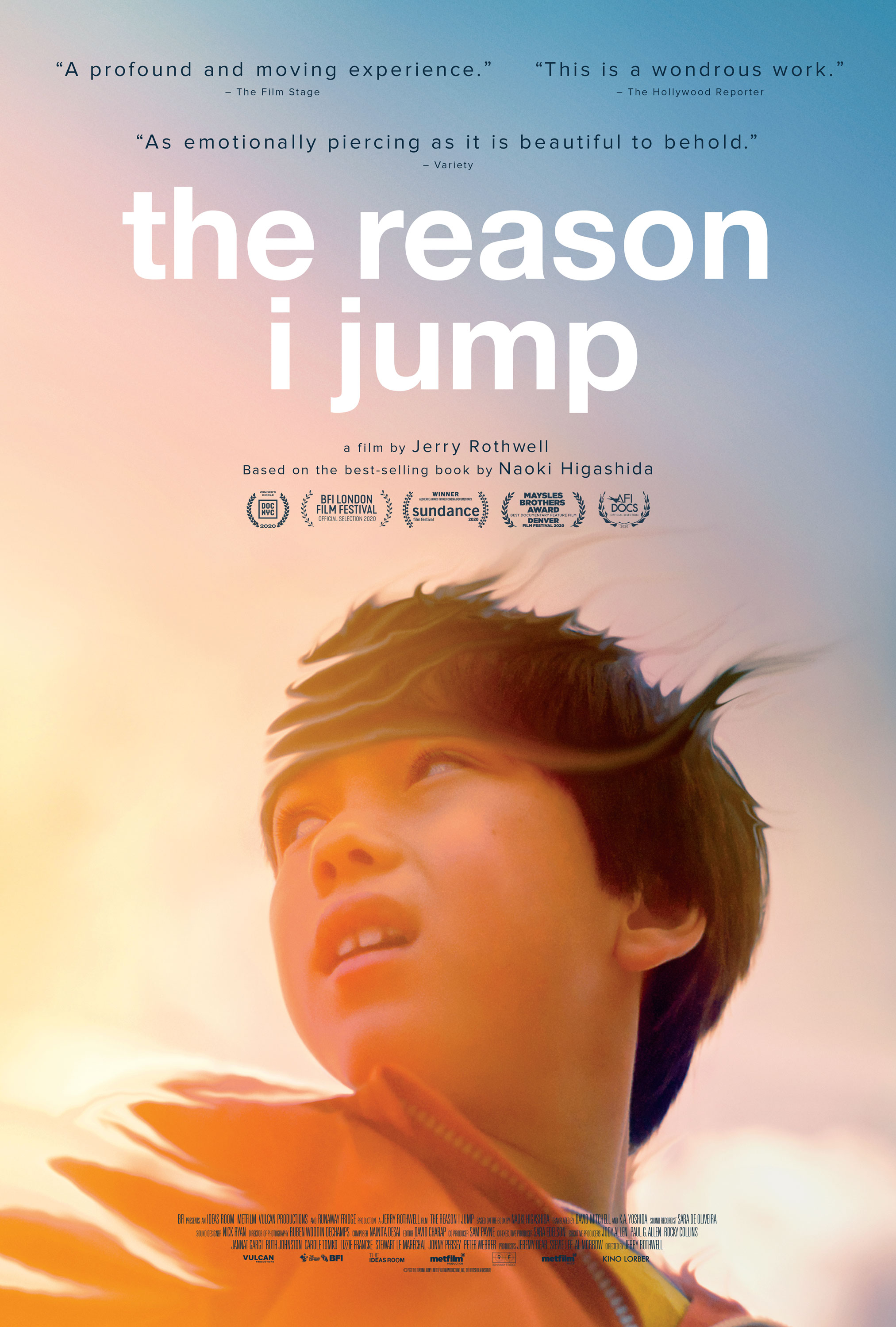 Poster for The Reason I Jump