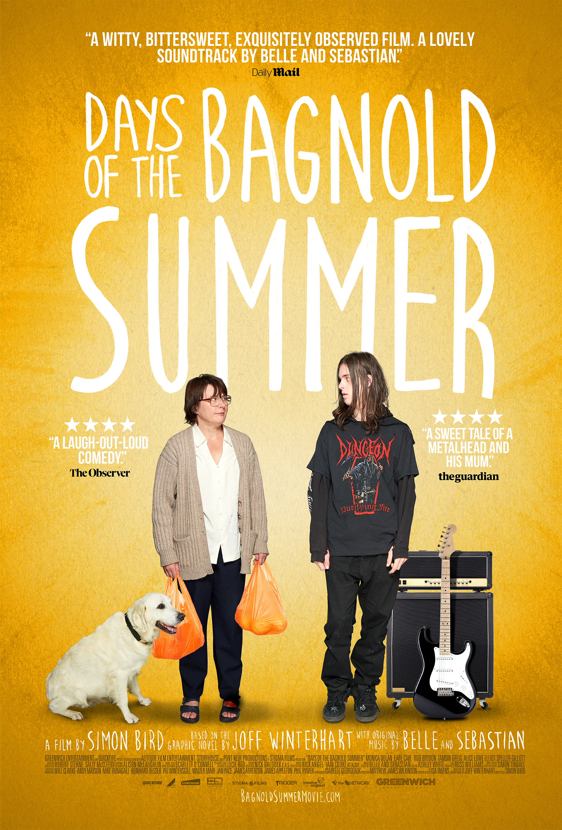Poster for Days of the Bagnold Summer