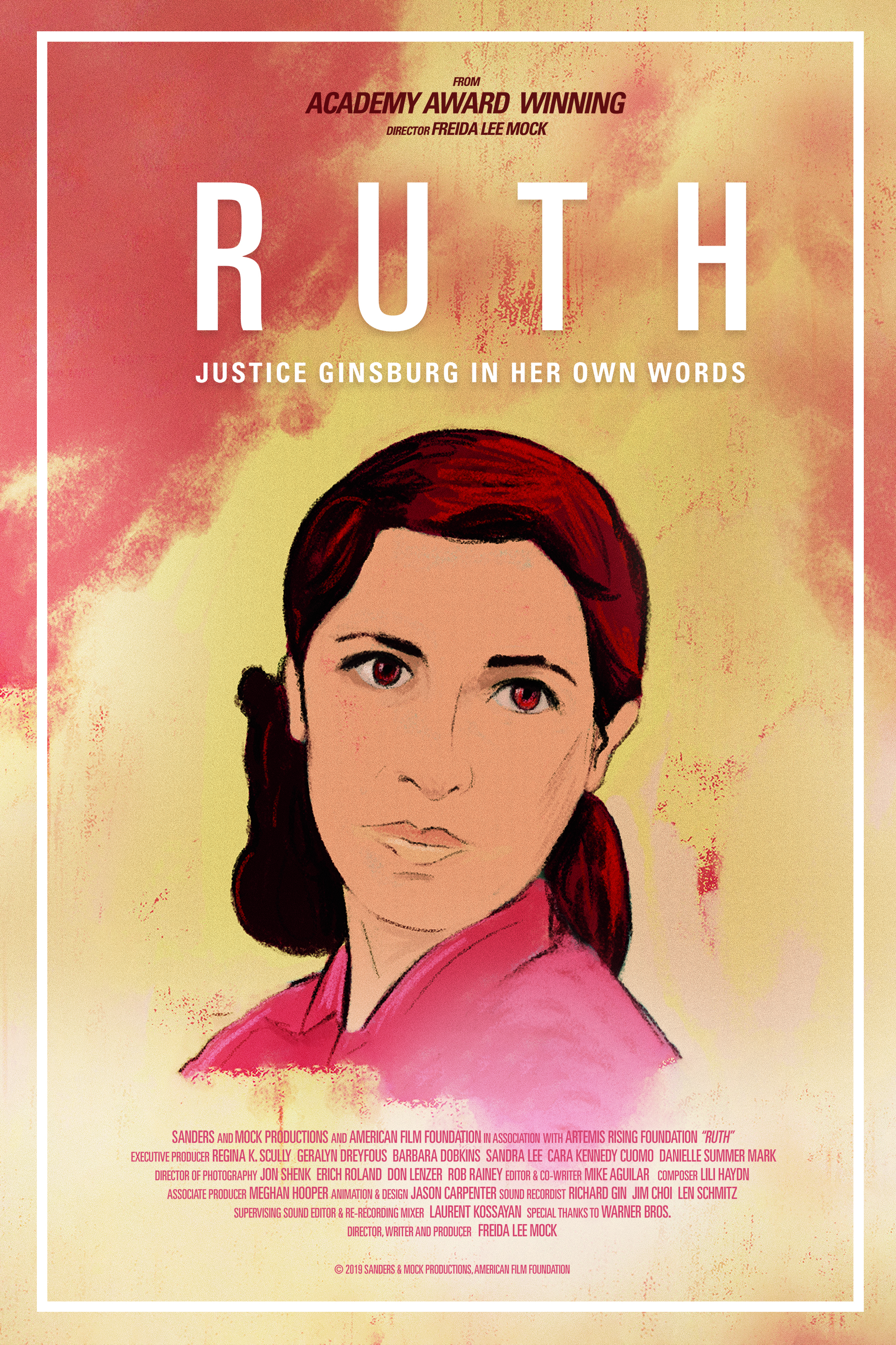 Poster for Ruth – Justice Ginsburg in Her Own Words