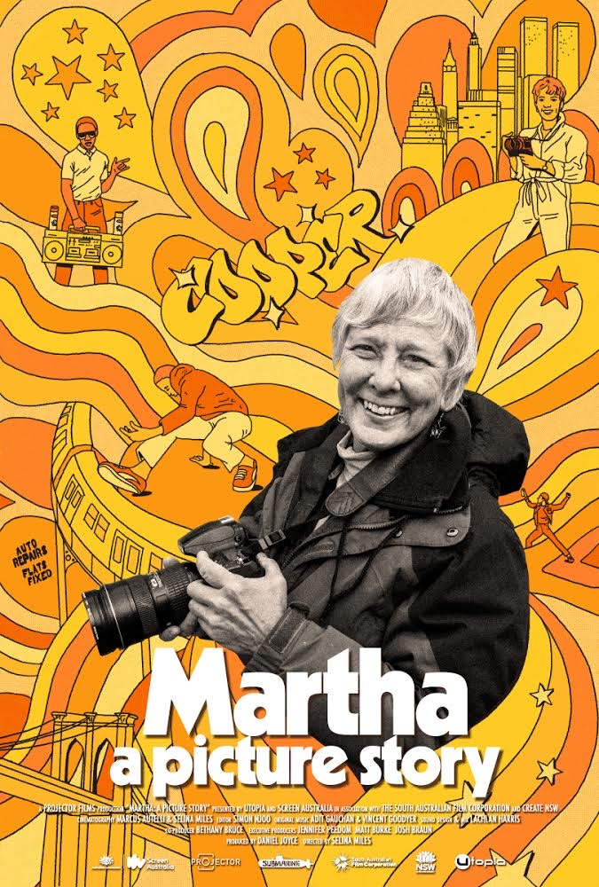 Poster for Martha: A Picture Story