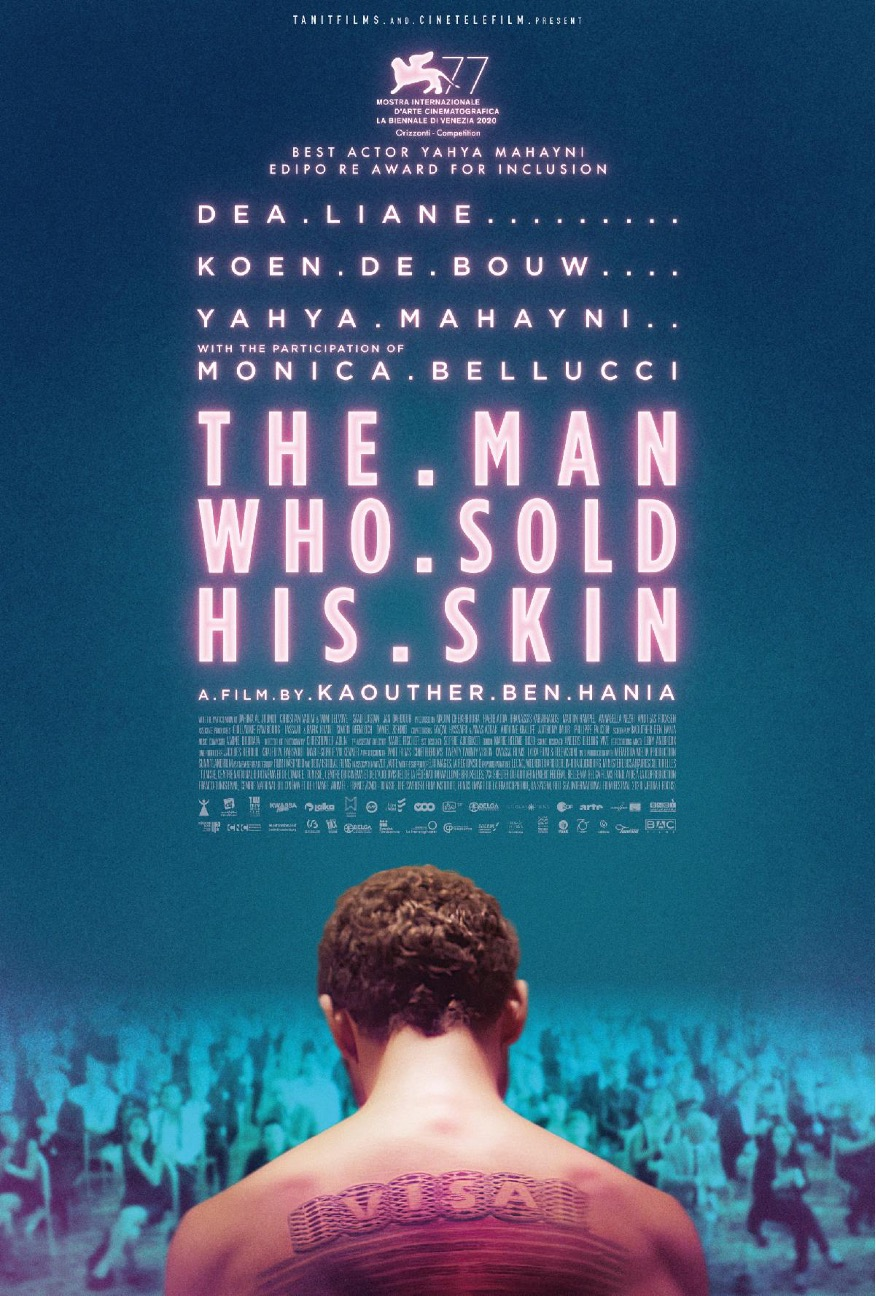 Poster for The Man Who Sold His Skin