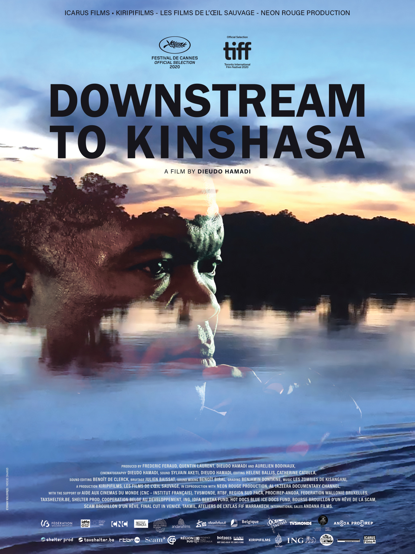 Poster for Downstream to Kinshasa