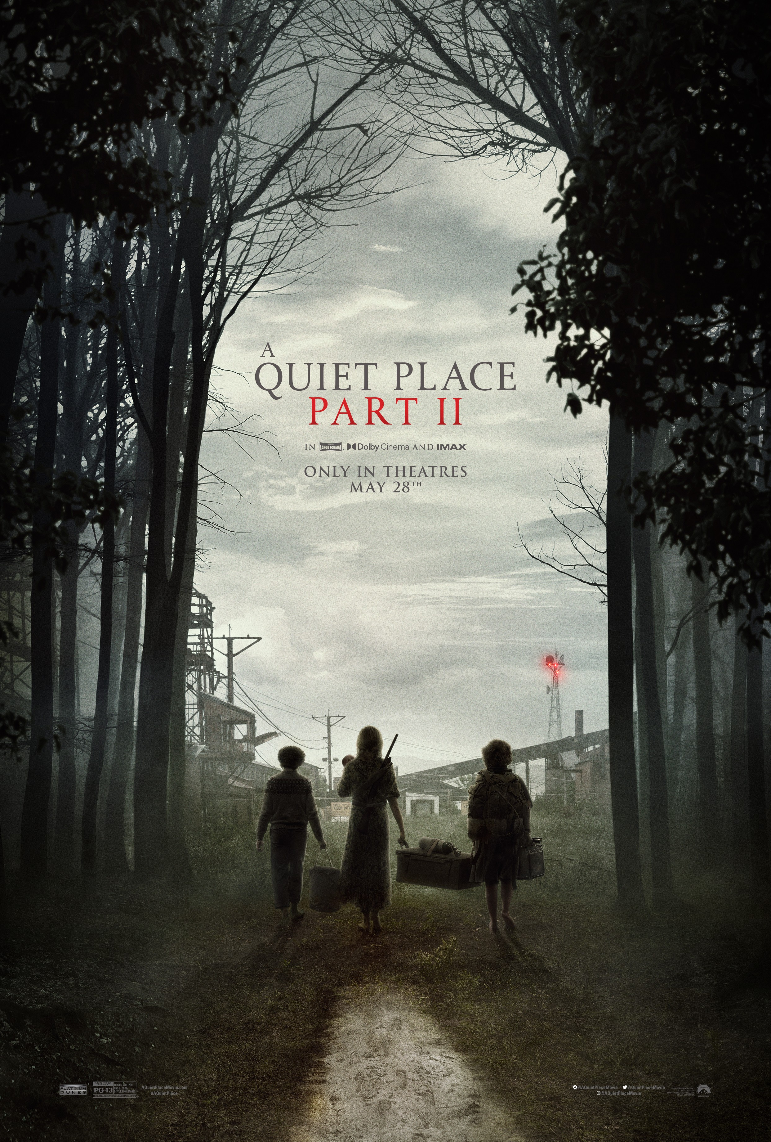 Poster for A Quiet Place Part II