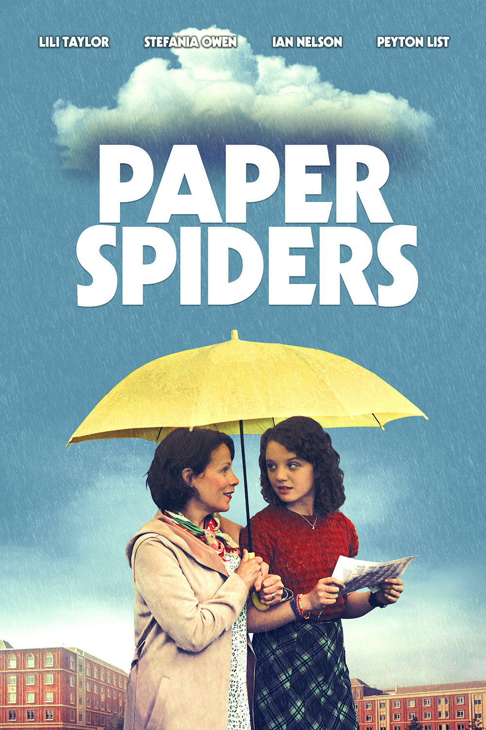 Poster for Paper Spiders