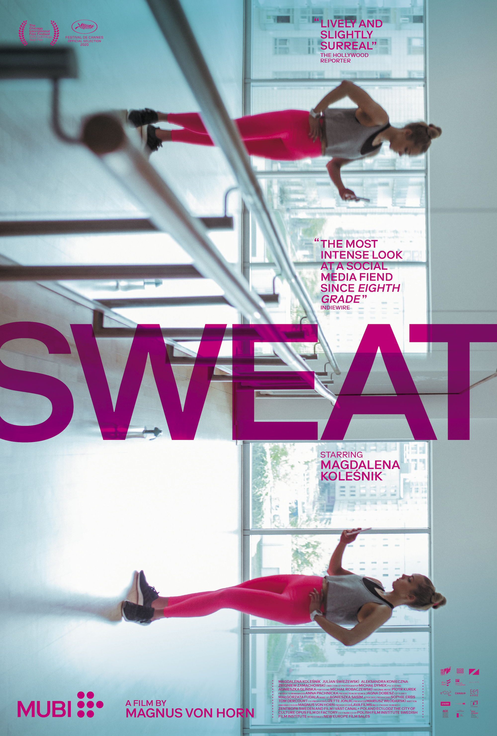 Poster for Sweat