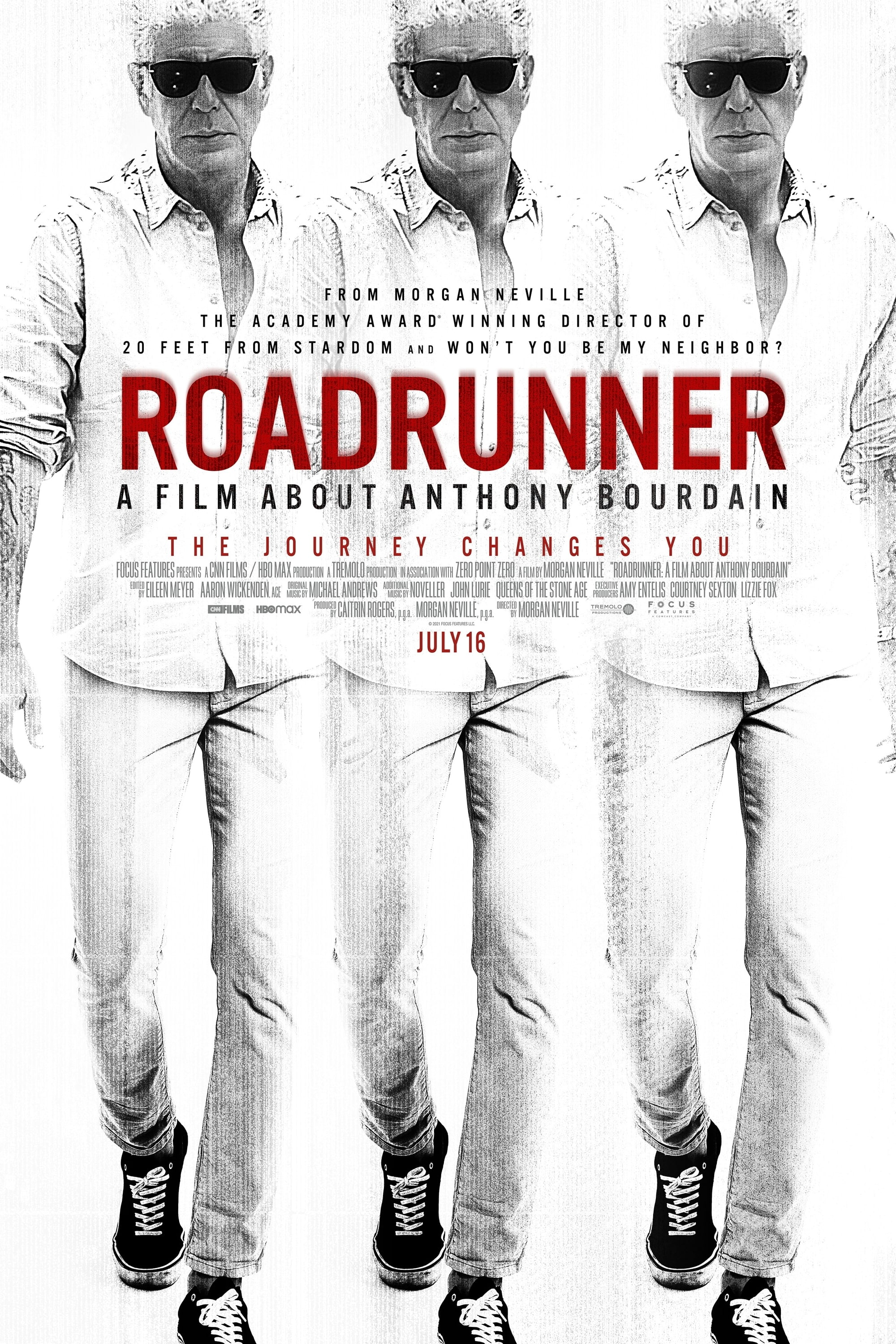 Poster for Roadrunner: A Film About Anthony Bourdain