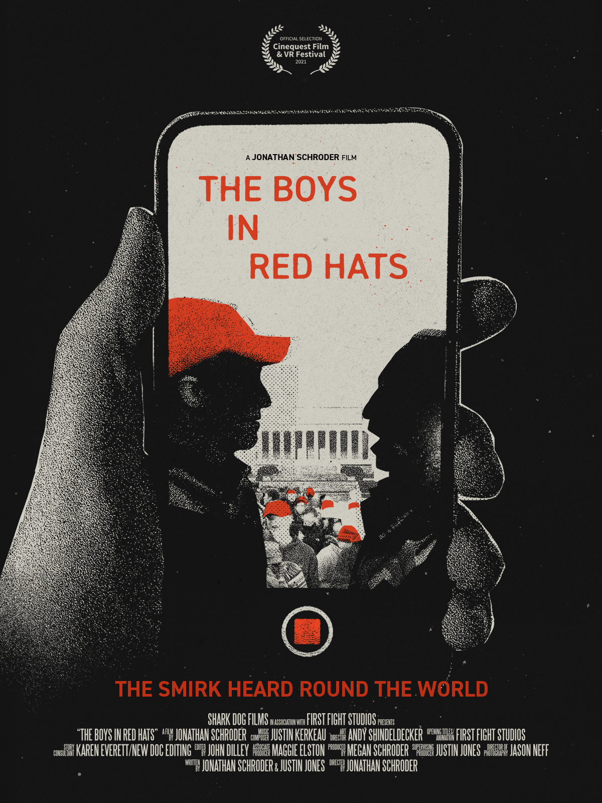 Poster for The Boys in Red Hats