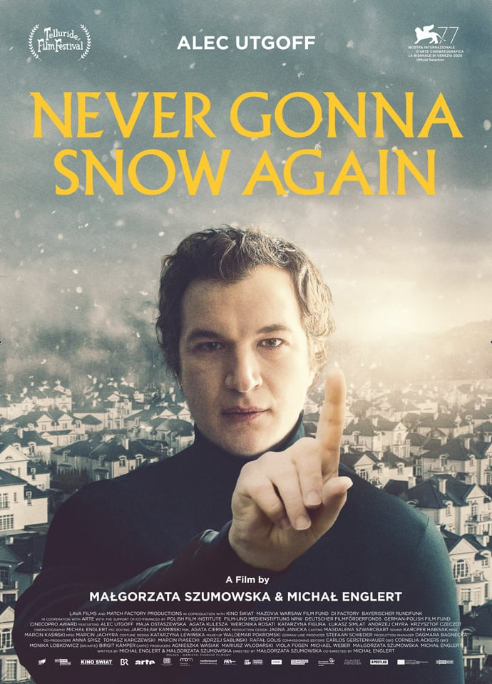Poster for Never Gonna Snow Again