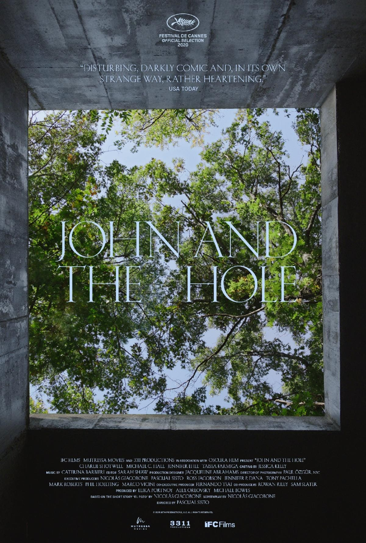Poster for John and the Hole