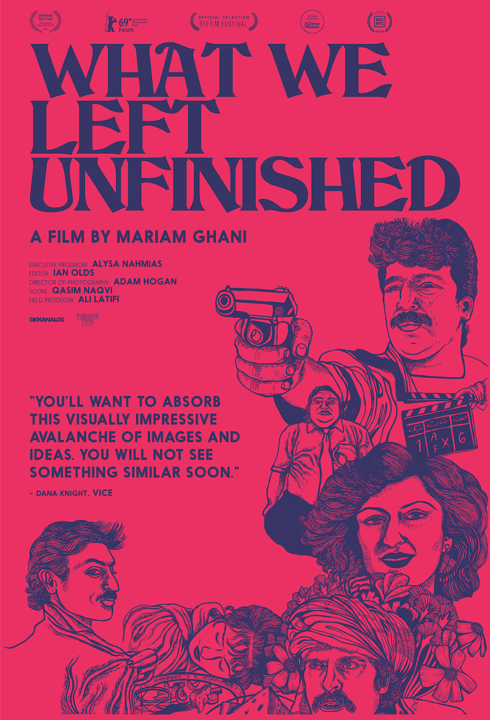 Poster for What We Left Unfinished