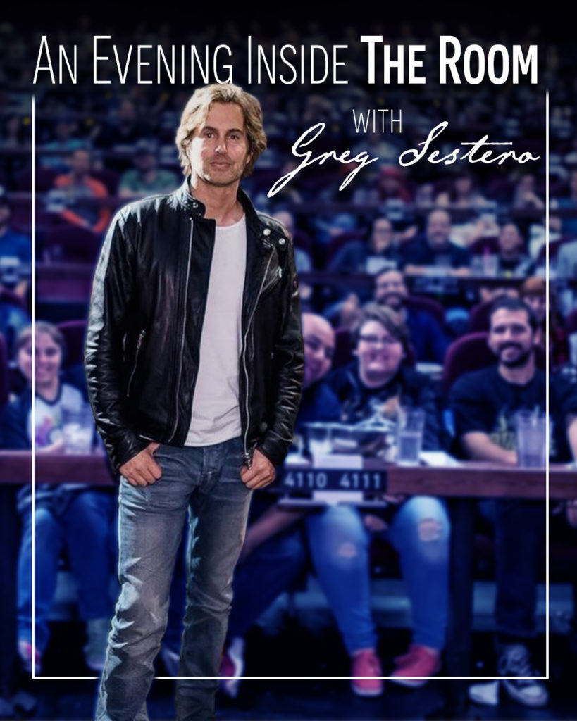 Poster for An Evening Inside The Room w/ Greg Sestero