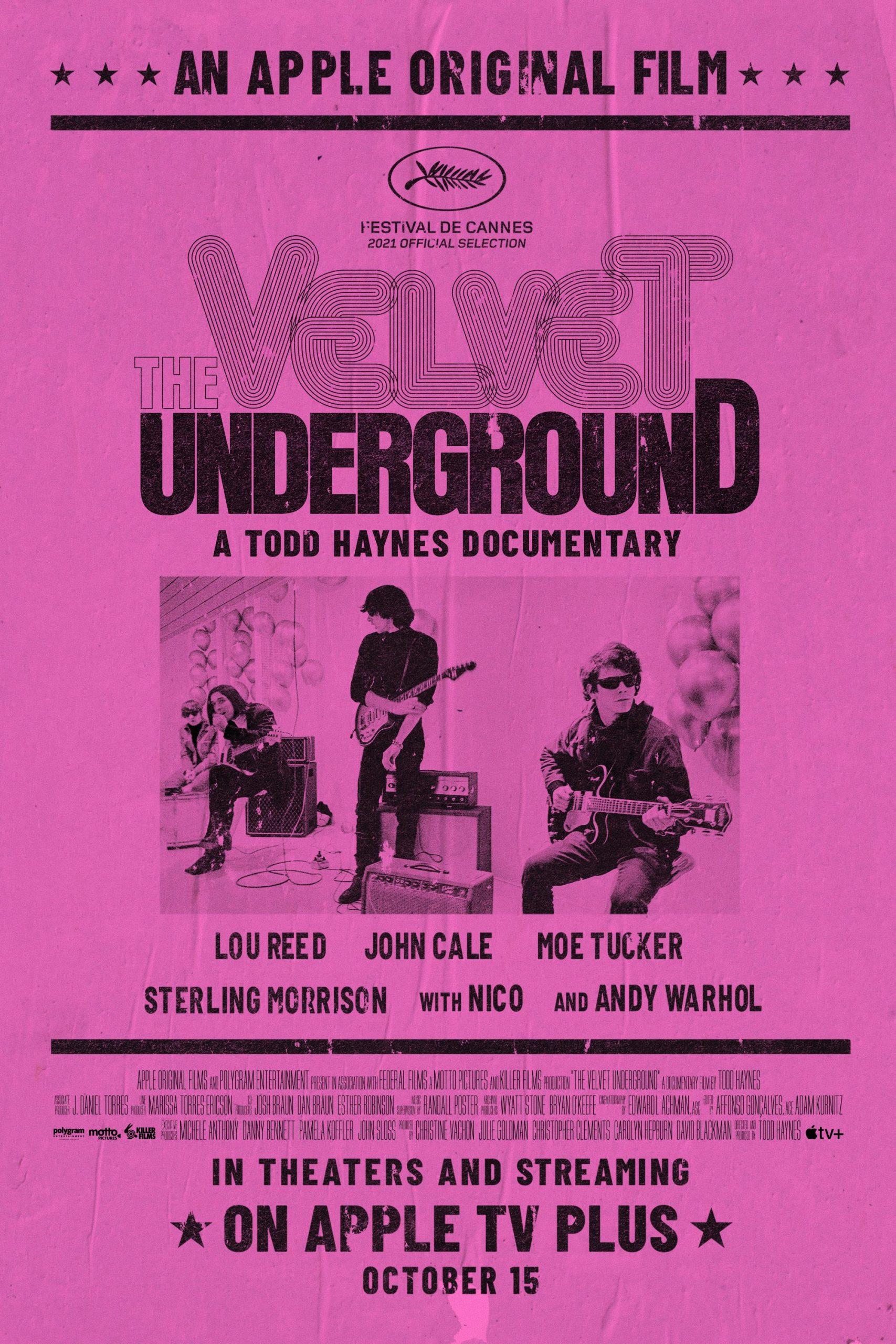 Poster for The Velvet Underground