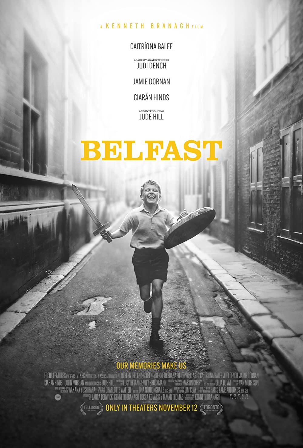 Poster for Belfast