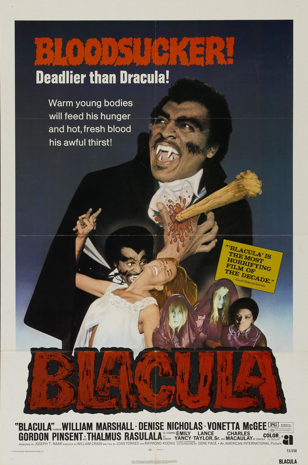 Poster for Blacula