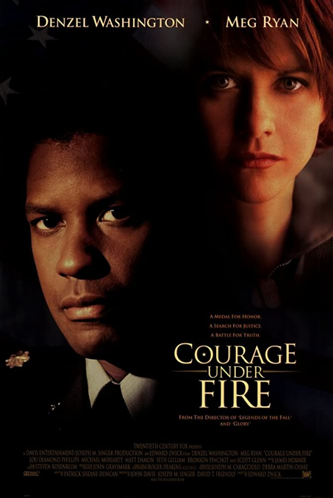 Film Poster for Courage Under Fire