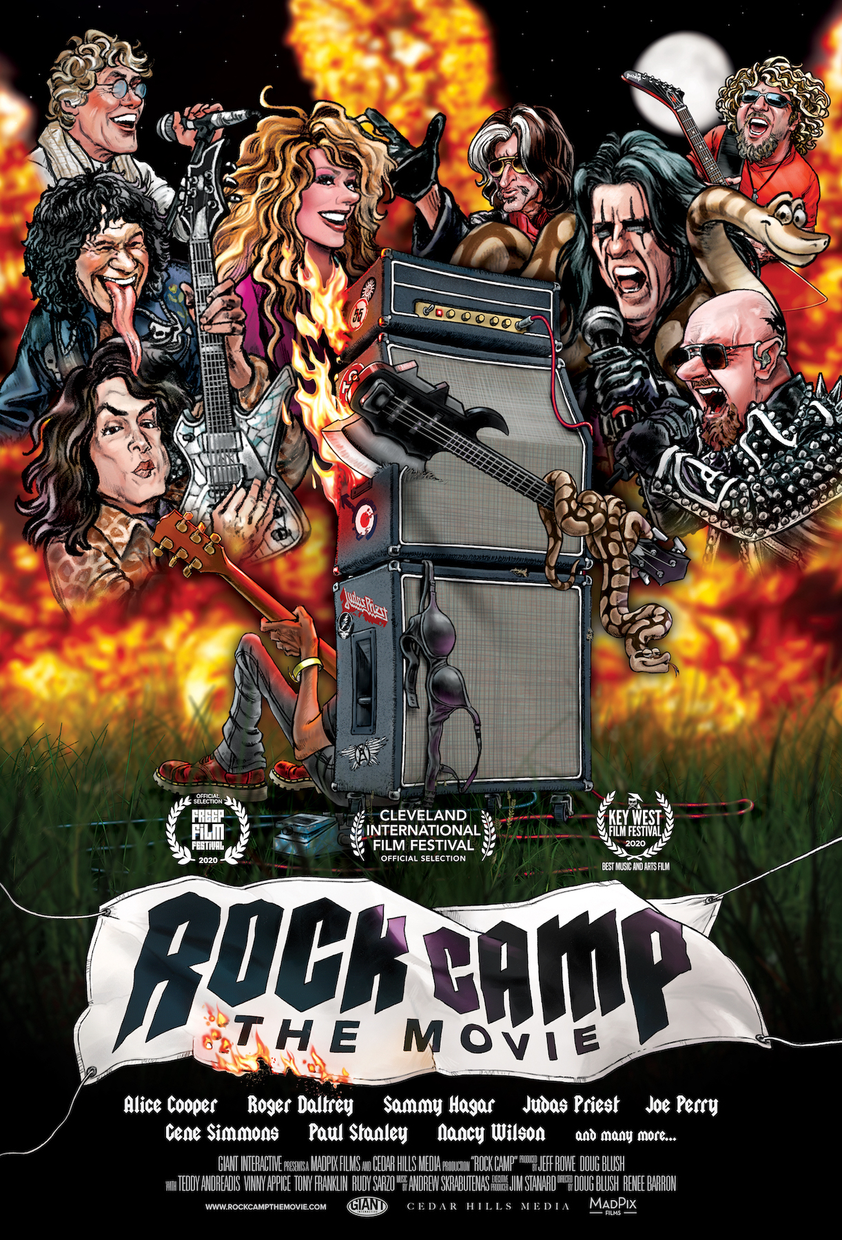 Poster for Rock Camp: The Movie