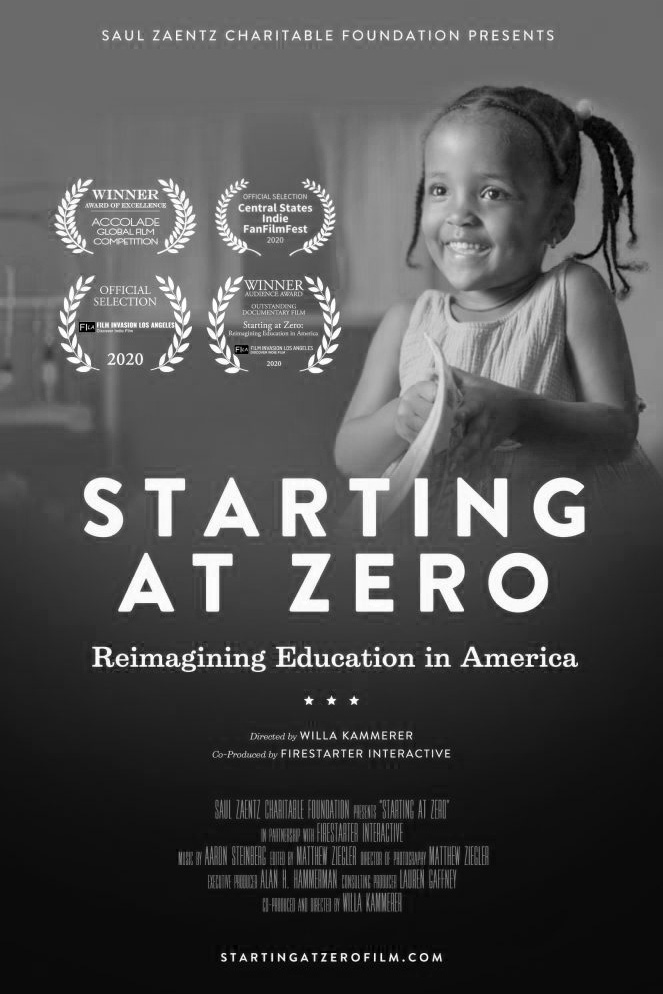 Poster for Starting at Zero: Reimagining Education in America